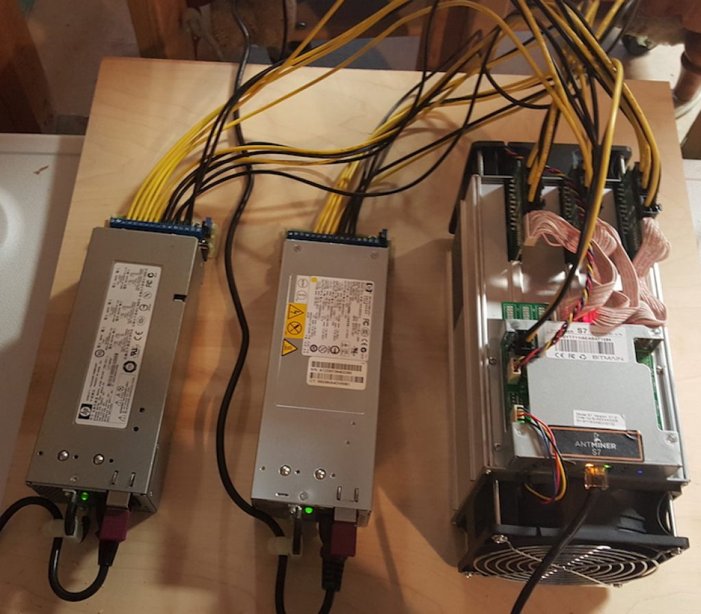 Bitcoin mining at home with the Antminer S7 – Block Operations