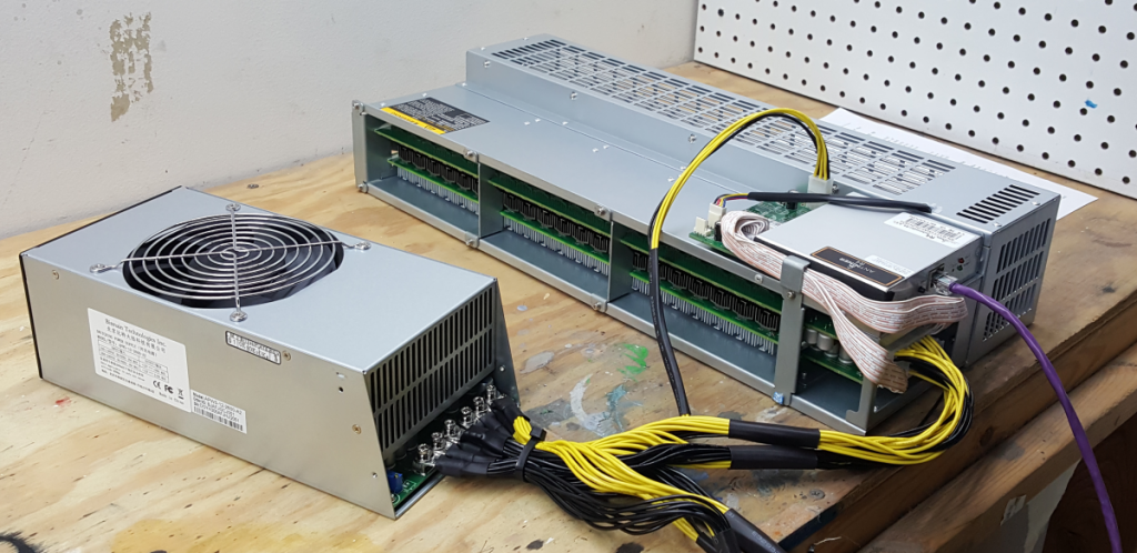 antminer r4 and apw5 side angle x1200