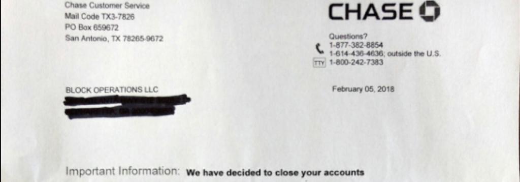 closing account